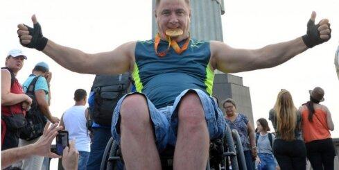 Foto: Latvijas paralimpieši savā brīvdienā aplūko Riodežaneiro
