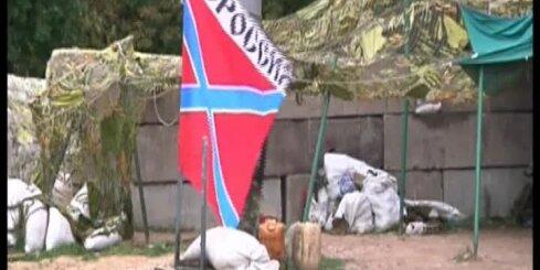 Teroristi Doņeckā gatavojas kaujai