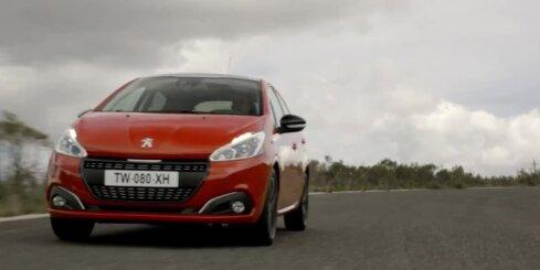 'Peugeot' modernizējis '208' hečbeku