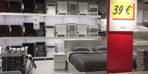 Ieskats jaunajā 'Ikea' veikalā Rīgā