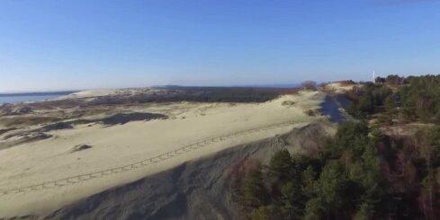 Kuršu kāpa - drona video