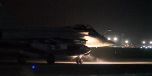 Francija pēc Parīzes teroraktiem sāk iespaidīgu gaisa uzbrukumu Sīrijā