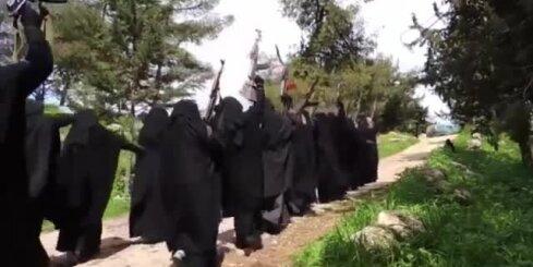 Sievietes džihādistes Sīrijā