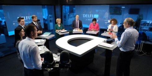'Par ko balsot?' politiķu diskusija par pensijām un demogrāfiju