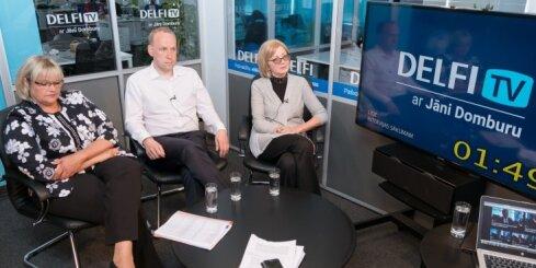 'Delfi TV ar Jāni Domburu': Latvija – feodāļu vasaļvalsts un Ušakova koķetērija