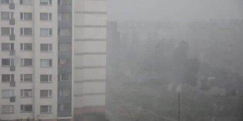 Pamatīga lietusgāze Bolderājā