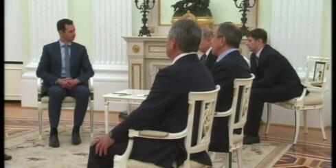 ASV kritizē Krieviju par Sīrijas prezidenta vizīti