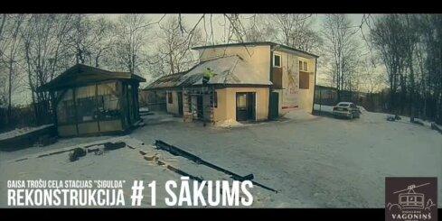Gaisa trošu ceļa stacijas 'Sigulda' rekonstrukcija
