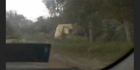Avārija uz ceļa P90