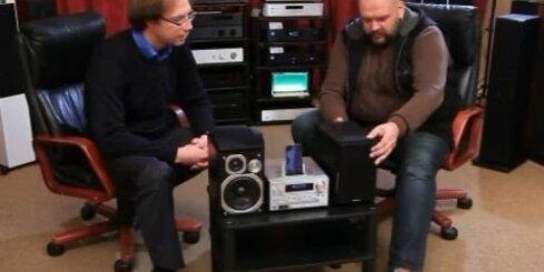 Audio mikrosistēmu salīdzinošais tests
