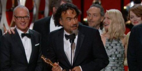'Oskara' ceremonijā triumfē 'Birdman'