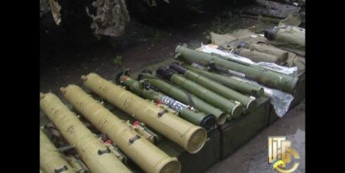 Teroristu pamestie ieroči Slovjanskā