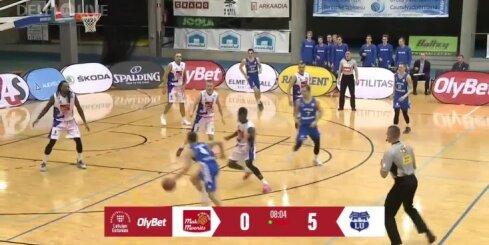 LU zaudē 'Valga-Valka/Maks&Moorits' basketbolistiem