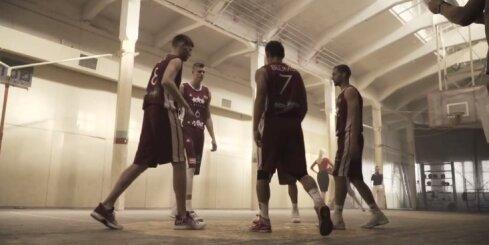 Video: Kā Latvijas basketbola zvaigznes reklāmu filmēja