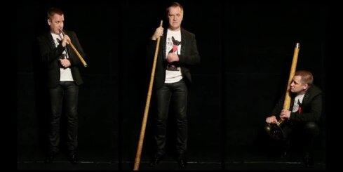 Video no Vaira Nartiša monoizrādes 'SPRĪDĪTIS. pēc 111 gadiem...'