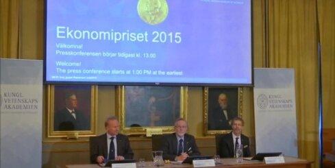 Nobela prēmiju ekonomikā saņem britu ekonomists