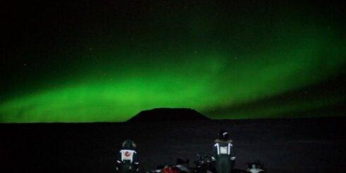 Norvēģijā top dokumentāla filma par ziemeļblāzmu