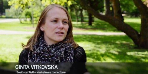 'Positivus 10x10': Lielās aizskatuves menedžere Ginta Vitkovska