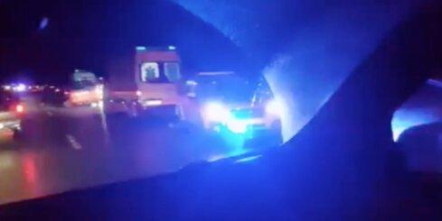 Uz Tīnūžu – Kokneses šosejas avarē septiņi auto