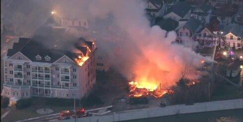 Milzu ugunsgrēks Ņūdžersijā