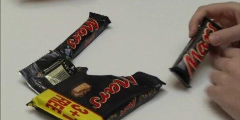 No tirdzniecības 55 valstīs, ieskaitot Latviju, atsauc 'Mars' ražotos šokolādes batoniņus