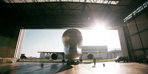 'Airbus' jaunā milzu lidmašīna