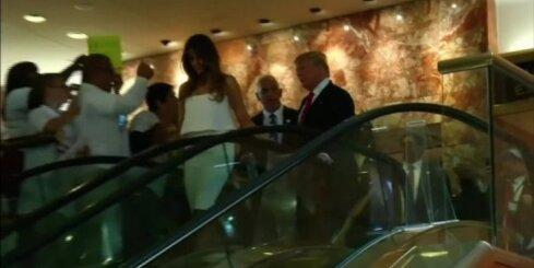 ASV pirmā lēdija – Melānija Trampa