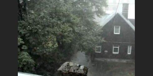 Pērkona negaiss Rīgā