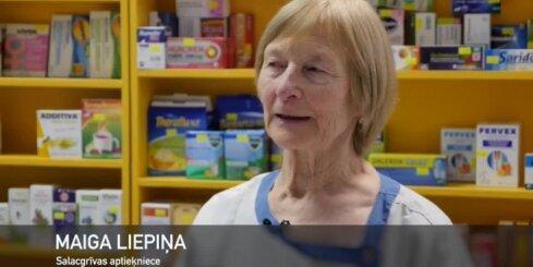 'Positivus 10x10': Salacgrīvas aptieķniece Maiga Liepiņa