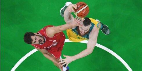 Riodežaneiro vasaras olimpisko spēļu vīriešu basketbola turnīra pusfinālu rezultāti (19.08.2016.)