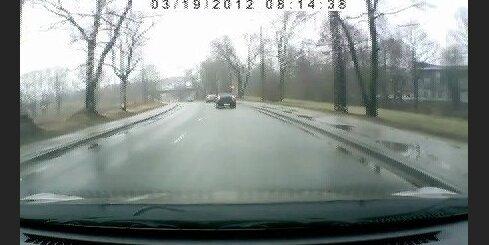 3 auto avārija Jelgavas ielā