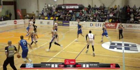 'OlyBet' basketbola līga: 'Ogre' - 'Valga-Valka/Maks&Moorits'. Pilns ieraksts