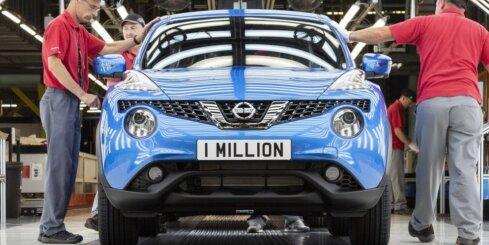 'Nissan Juke' saražots jau miljons vienībās