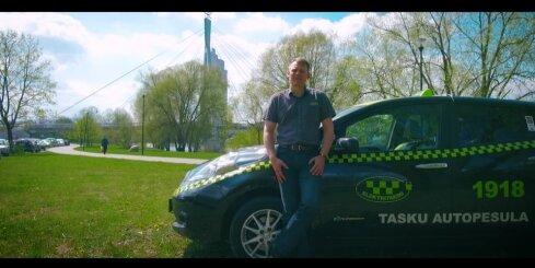 'Nissan Leaf' taksometri Tartu ir nobraukuši vairāk nekā 10 miljonus km