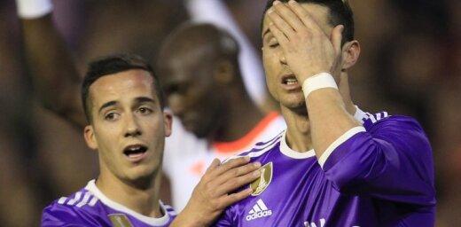 Real Madrid Cristiano Ronaldo, Lucas Vazquez