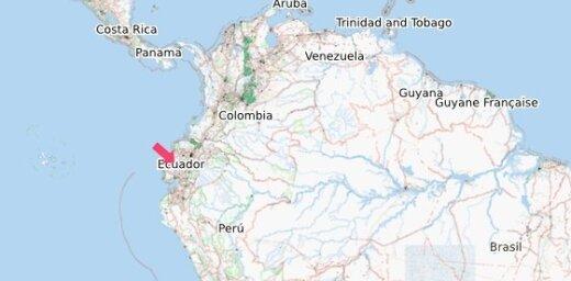 Avarējot futbola līdzjutēju autobusam, Ekvadorā gājuši bojā desmit cilvēki un 35 ievainoti