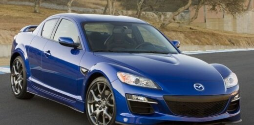 """Pašreizējais """"Mazda RX-8"""""""