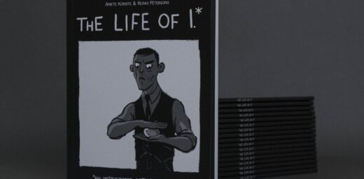 Iznākusi komiksu grāmata par introverto latviešu rakstnieku 'Life of I.'