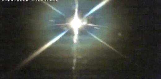 Авария на шоссе Тинужи-Кокнесе: водитель Audi столкнул автомобиль с женщиной и ребенком в кювет