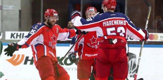 CSKA gūst pirmo uzvaru Gagarina kausa finālsērijā