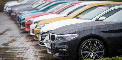 Latvijā straujāks jaunu auto reģistrācijas pieaugums par ES vidējo