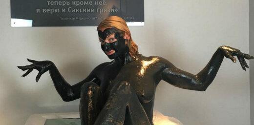 Krievu balerīna Voločkova pārāk provokatīvu foto dēļ izpelnās nosodījumu
