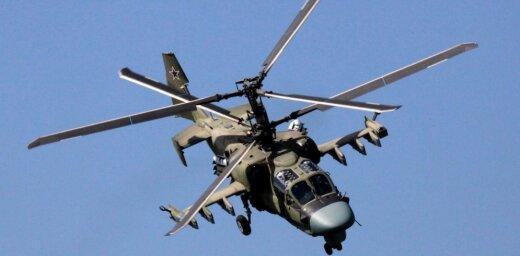 Давший залп в сторону зрителей вертолет Ка-52 разрушил склад при посадке