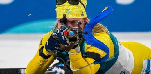 Olimpiskais čempions biatlonā Sāmuelsons boikotēs Krievijā gaidāmo PK pēdējo posmu
