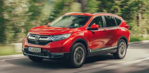 'Honda' marku Latvijā turpmāk izplatīs arī 'WESS Auto Grupa'