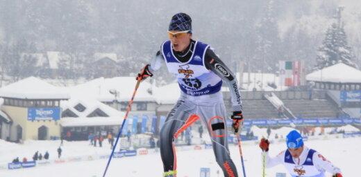 Slēpotājs Bikše sasniedz savu otro labāko FIS punktu rādītāju Pasaules kausa posmā
