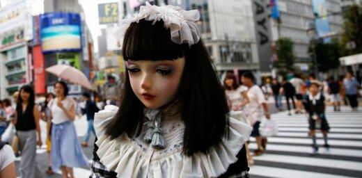 Dzīve lelles maskā – neparastā modele Lulū