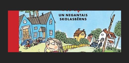'Salmenīte, Čībiņa un negantais skolasbērns' – somu rakstnieču jaunā grāmata bērniem