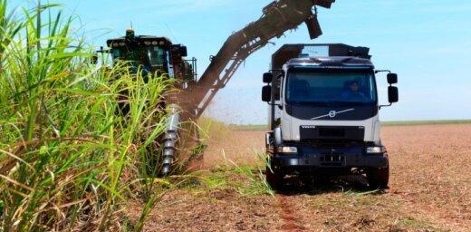 Pašstūrējošā kravas auto precizitāte var palielināt Brazīlijas cukurniedru ražu