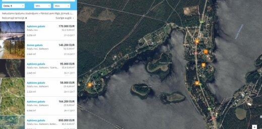 Pārdod zemi pie ezera, pie jūras, zemes pārdošana Rīgā, Jūrmalā, Latvijā